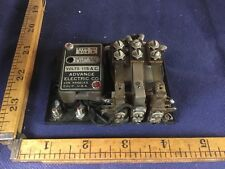 Advance Electric Corp. Type 304B Vintage Radio Relay delay 5sec to 1 min. 115V