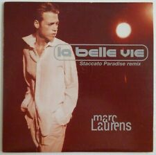 MARC LAURENS : LA BELLE VIE ♦ CD SINGLE PROMO ♦