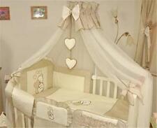 CALOTTA di grandi Baby Zanzariera larghezza 480cm si adatta per lettino + titolare-CUORI Beige