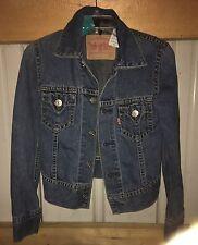 Levi's Denim Jacket Size Xs Type 1