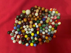 Lot Of 125 Vintage Marbles