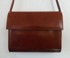 4946afabe534 Vintage Tan Leather CHARLES JOURDAN Clutch Shoulder Cross-Body BAG
