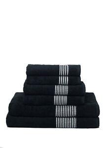 Handtuch 6er Set  2x Badetuch  2x Gästetuch  2x Handtuch 100% Baumwolle Edel