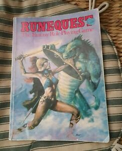 Chaosium Runequest 2nd Edition Rulebook -  1980