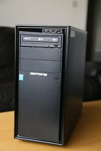 IbuyPower Pc desktop i5-3570 3.40 GHz 500gb HDD 8GB Ram Radeon HD 7700