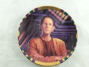Star Trek Security Chief Odo Hamilton Plate Collection no COA