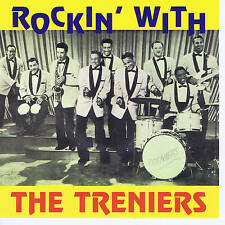 THE TRENIERS - ROCKIN WITH (27 Original '50s ROCK 'N' ROLL + R&B JIVERS) SALE CD