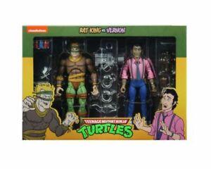 NECA Teenage Mutant Turtles Rat King and Vernon 7 inch Action Figure