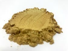 10g GOLD PEARL MICA PIGMENT COSMETIC GRADE COLORANT PEARLESCENT POWDER