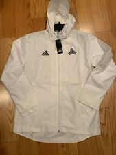 Adidas Soccer Tango Windbreaker Size M BNWT White DT9851 Jacket Training
