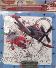 "Disney ""Planes"" Color Your Own Puzzle 20 PC With 4 Crayons 10"" X 10"""