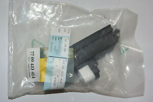 RENAULT CLIO III BUMPER BRACKET KIT BLACK  NEW GENUINE 7701205224