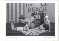 """*Postcard-""""Live Models"""" /Mannequins/ -Hudson's Dept. Store/Detroit (#63"""