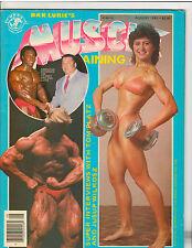 Muscle Training Bodybuilding Fitness Magazine Lee Haney/Tom Platz 8-83