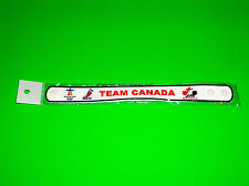 CANADA OLYMPIC HOCKEY TEAM WHITE WRISTBAND