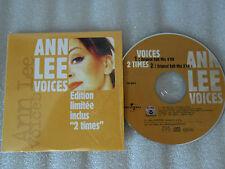 """CD-ANNLEE-VOICES-Edition Limitée inclus""""2 Times""""-(CD SINGLE)-1999-Original Edit-"""