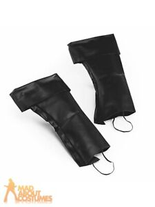 Boot Top Covers Mens Ladies Pirate World Book Day Santa Fancy Dress Accessory