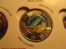 2017 GLOW IN THE DARK $2 COIN CANADA 150 YEARS CELEBRATIONS DANCE OF THE SPIRITS