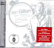 IAN GILLAN live in anaheim  CD + DVD NEU