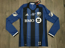 Montreal Impact Adidas Adizero Authentic MLS Soccer Jersey Mens Size Medium NWT