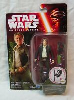 "Star Wars The Force Awakens HAN SOLO 4"" Action Figure Toy NEW"