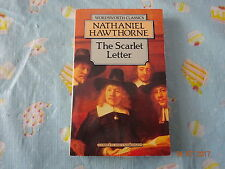 The Scarlet Letter by Nathaniel Hawthorne (Wordsworth Classics paperback)