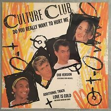 """CULTURE CLUB - Do You Really Want To Heart Me - 12"""" Single (Vinyl LP) VS518"""