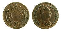 pcc2124_60) Austria - Maria Theresia 1 Pfennig 1765