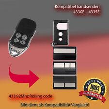 4330E,4333E,4335E,4330EML,4333EML,4335EML 433.92MHz Kompatibel Handsender ersatz