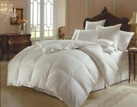 %100 COTTON GOOSE DOWN DOUBLE FILLED COMFORTER KING QUEEN FULL TWIN Size