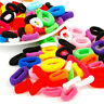 100Pcs Baby Girls Elastic Hair Band Ponytail Holder Hair Tie Rope Hair Ring