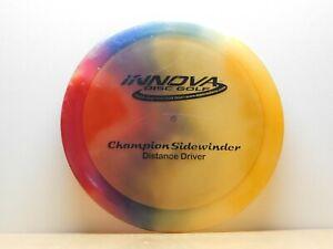 PFN Innova Champion SIDEWINDER Tie Dye 172g Disc Golf Distance Driver