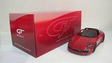 1:18 GT SPIRIT PORSCHE 911 991 TARGA GTS RED GT074 RESIN CARS