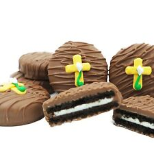 Philadelphia Candies Easter Cross Religious Milk Chocolate Covered OREO® Cookies