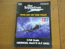 THE SQUADRON - 1998 KIT OF THE YEAR CATALOGUE MAQUETTE MODELISME TOUTE MARQUES