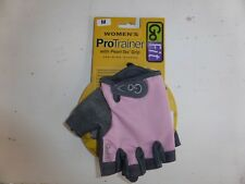 women's gofit pro trainer pink weightlifting gloves size medium