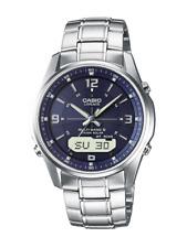 Casio Wave Ceptor – Herren Analog/Digital Uhr mit massivem Edelstahl Brac