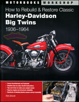RESTORATION MANUAL SCHUNK HARLEY DAVIDSON GUIDE BOOK HOW TO REBUILD RESTORE