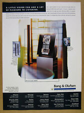 1996 Bang & Olufsen BeoSound 4000 Audio System photo vintage print Ad