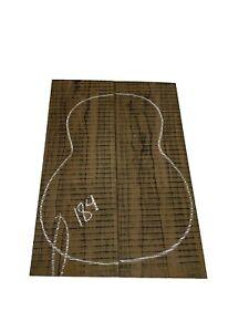 DREADNOUGHT Ziricote Guitar Back/OM, Top Set Luthier Tonewood Book Match #184