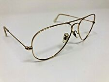 RAYBAN RB3025 L0205 58mm 58-14 ITALY SUNGLASS AVIATOR FRAME ONLY Gold O913