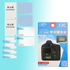 Canon EOS 1D X Mark II Top & Back Large Small LCD Screen Protector JJC LCP-1DXM2