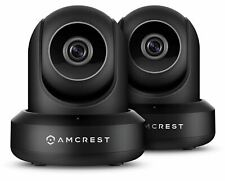 Amcrest 1080P HD 2MP WiFi Security IP Camera Wireless Surveillance System 2-PACK