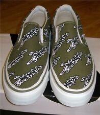 ACUPUNCTURE Clásico Retro de Moda resbalón en el Skate Cubierta Informal Zapatos Tenis Reino Unido 6 7