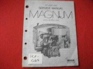 1992 MAGNUM TWIN CYLINDER MODELS MV16, MV18, MV20 GASOLINE ENGINE SERVICE MANUAL