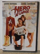 Hero at Large (DVD, 2005) RARE JOHN RITTER 1980 COMEDY BRAND NEW