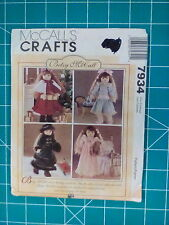 """McCalls Crafts sewing pattern #7934, Betsy McCall doll clothes for 18"""" doll"""