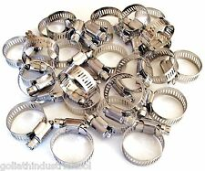 """New listing 25 Goliath Industrial Stainless Steel Hose Clamps 7/8""""- 1-1/4"""" Sshc114 22Mm-32Mm"""