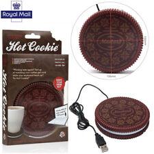 Cookie USB Heat Warmer Heater Milk Tea Coffee Mug Hot Drinks Beverage Cup Pad R