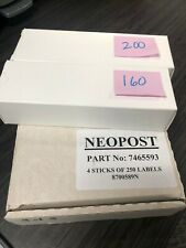 (1300+ Pieces) Neopost Postage Meter Tapes Part No. 7465593 Rev B